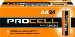 24-Pack Procell Professional AA Batteries
