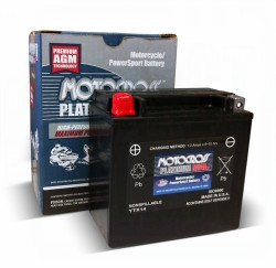 M3RH4S YTX14-BS Dry Charge Battery