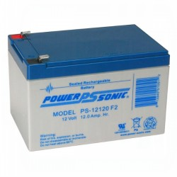 Power Sonic PS-12120-F2 SLA Battery