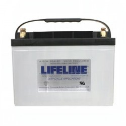 Lifeline GPL-27T 12 Volt 100Ah Battery