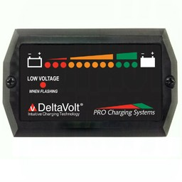 Dual Pro Battery Fuel Gauge 48v