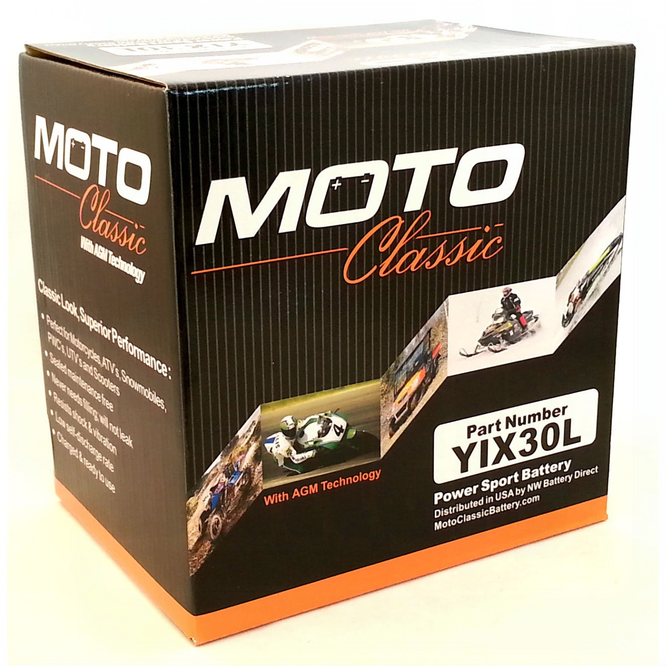 yix30l battery moto classic 12 volt motorcycle batteries. Black Bedroom Furniture Sets. Home Design Ideas
