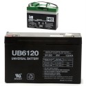 IAKB0508 Extra Wide Peg Perego Replacement 6V 12Ah battery