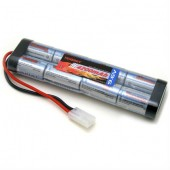 11411 - 9.6V Flat 4200mAh Airsoft Battery w/ Large Tamiya