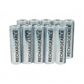 10 AA Rechargeable Batteries