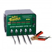 5 Bank Battery Tender Shop Charger 12 Volt 2 Amp