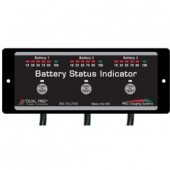 Dual Pro Battery Status Indicator 3 Bank BSI3