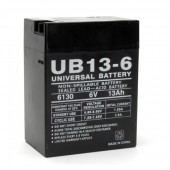 UPG UB6130 TOY 6 Volt 13Ah Battery