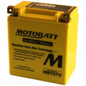 MotoBatt MBTX7U Upgrade for YTX7L-BS, GTX7L-BS