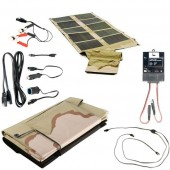 Global Solar SUNLINQ 7 62 Watt Desert Camo Foldable Solar Panel P3-62 Kit