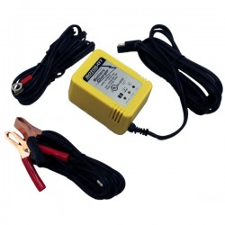 MotoBatt Little Boy 1.0 Ah Motorcycle Battery Charger and Maintainer MBCLB
