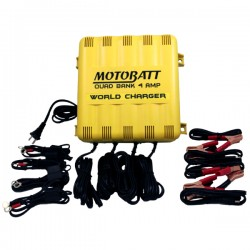 MotoBatt 4 Bank Charger