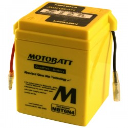 MotoBatt MBT6N4 Sealed 6 Volt Battery