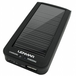 Portable Battery & Solar Charger by Lenmar