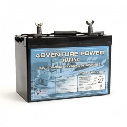 UPG UB12900-M (Group 27) 12 Volt 90Ah Battery