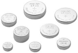 Assortment of Button Cell Batteries