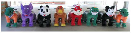 Fun Zippy Pets in a colorful display line