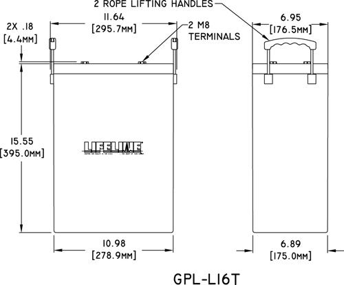 Lifeline GPL-L16 Product Specs